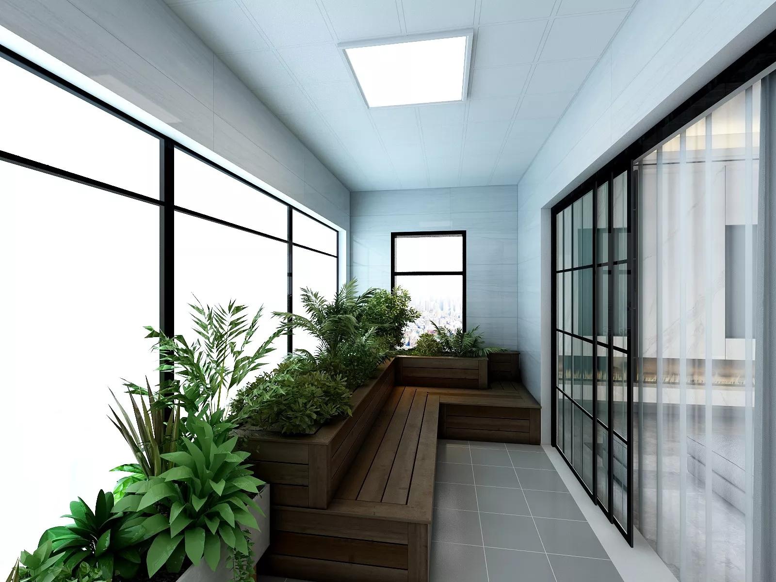 超级有范儿的工业风格公寓装修效果图