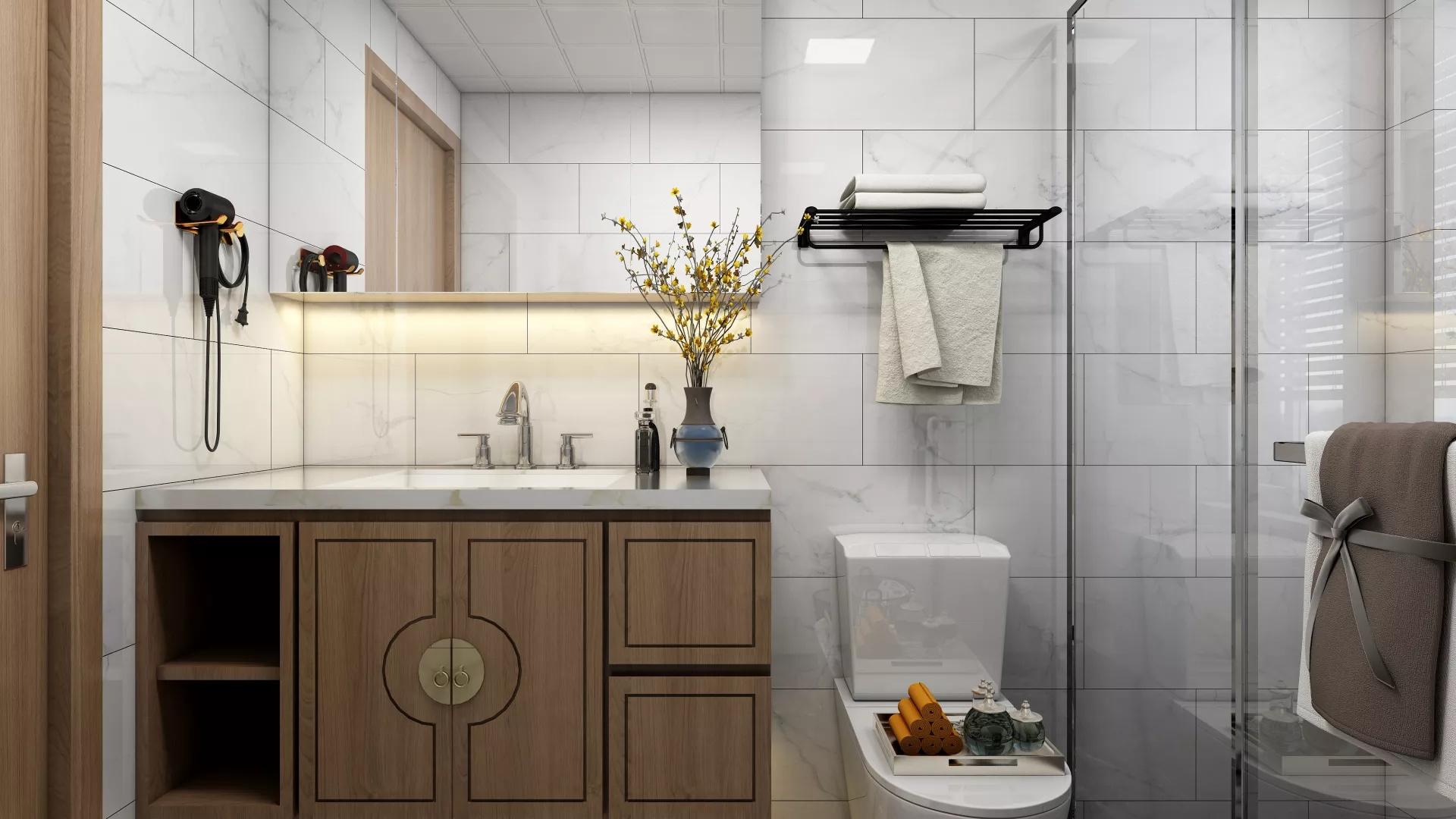 玄关,门厅,简约风格,鞋柜,简洁,白色