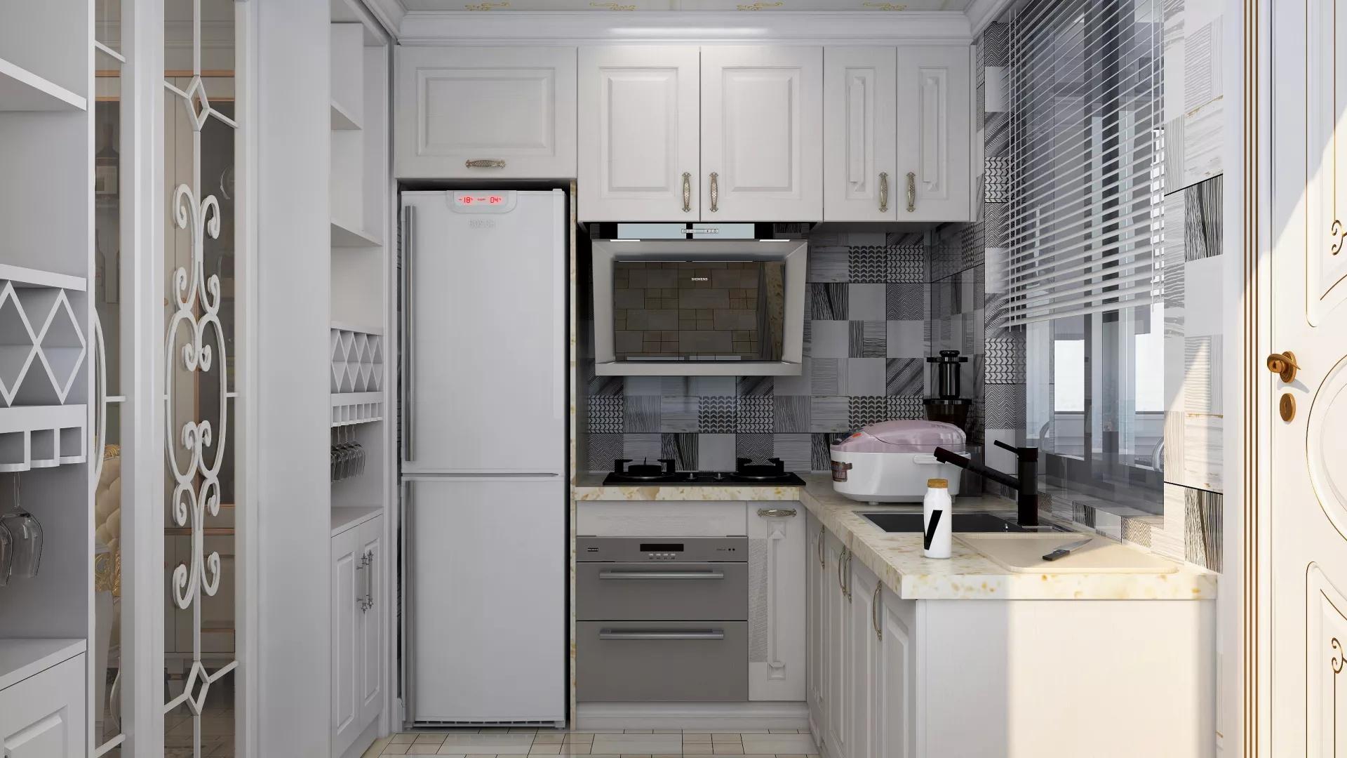 门厅,楼梯,跃层装修,简约风格,简洁,白色
