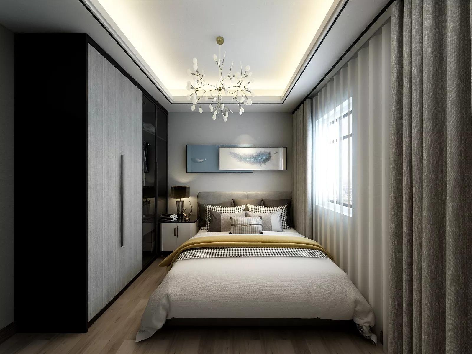客厅,二居室装修,中式风格,沙发,灯具,茶几