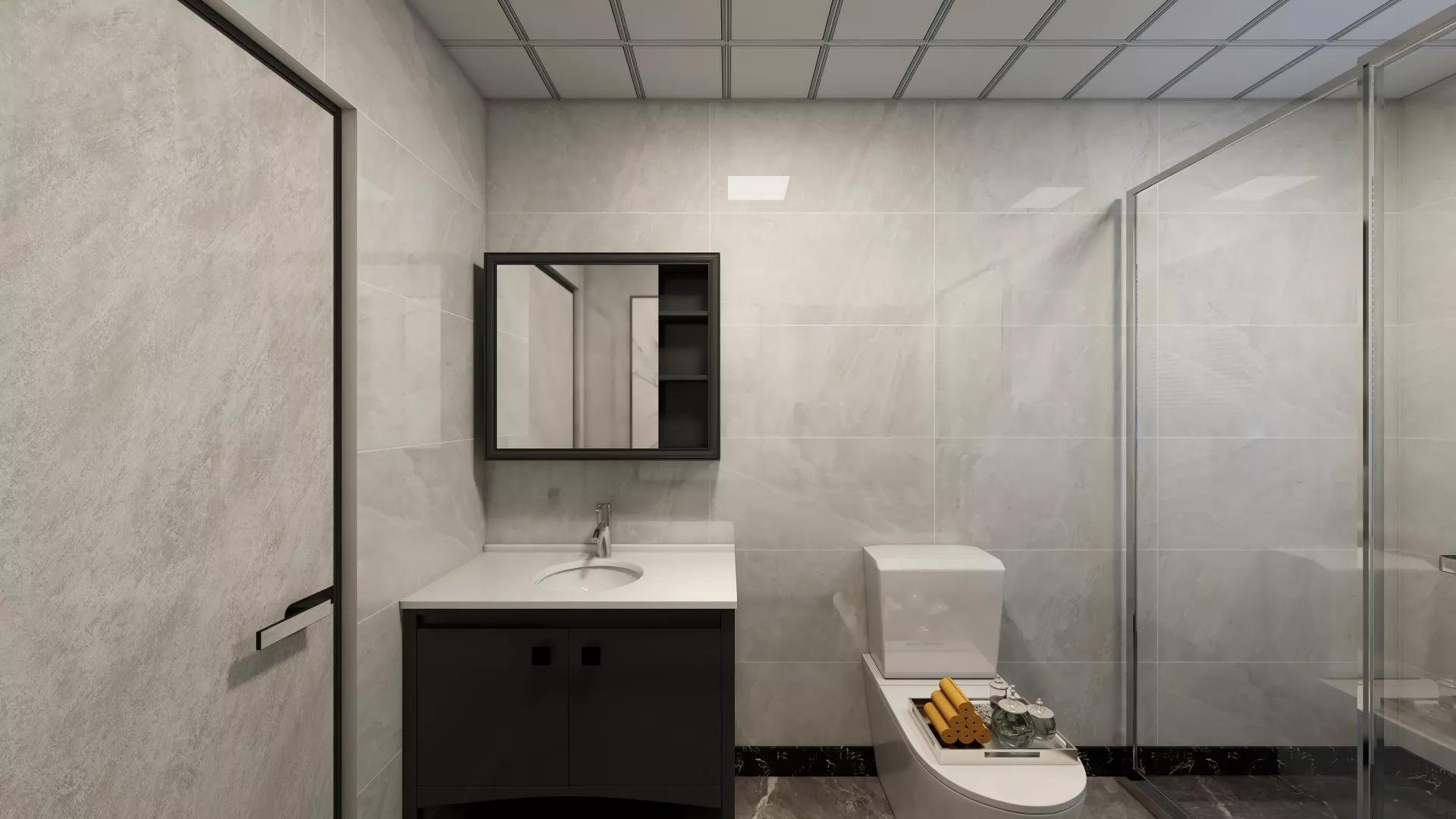 门厅,中式风格,地板,简洁