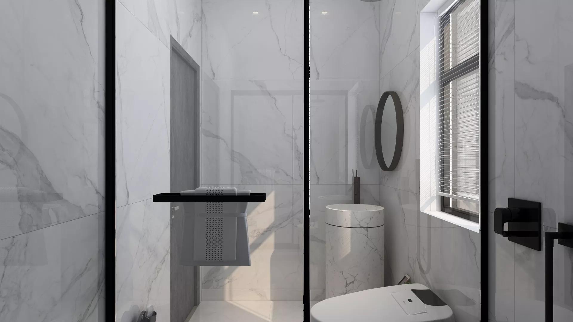 INS风现代时尚家居装修效果图