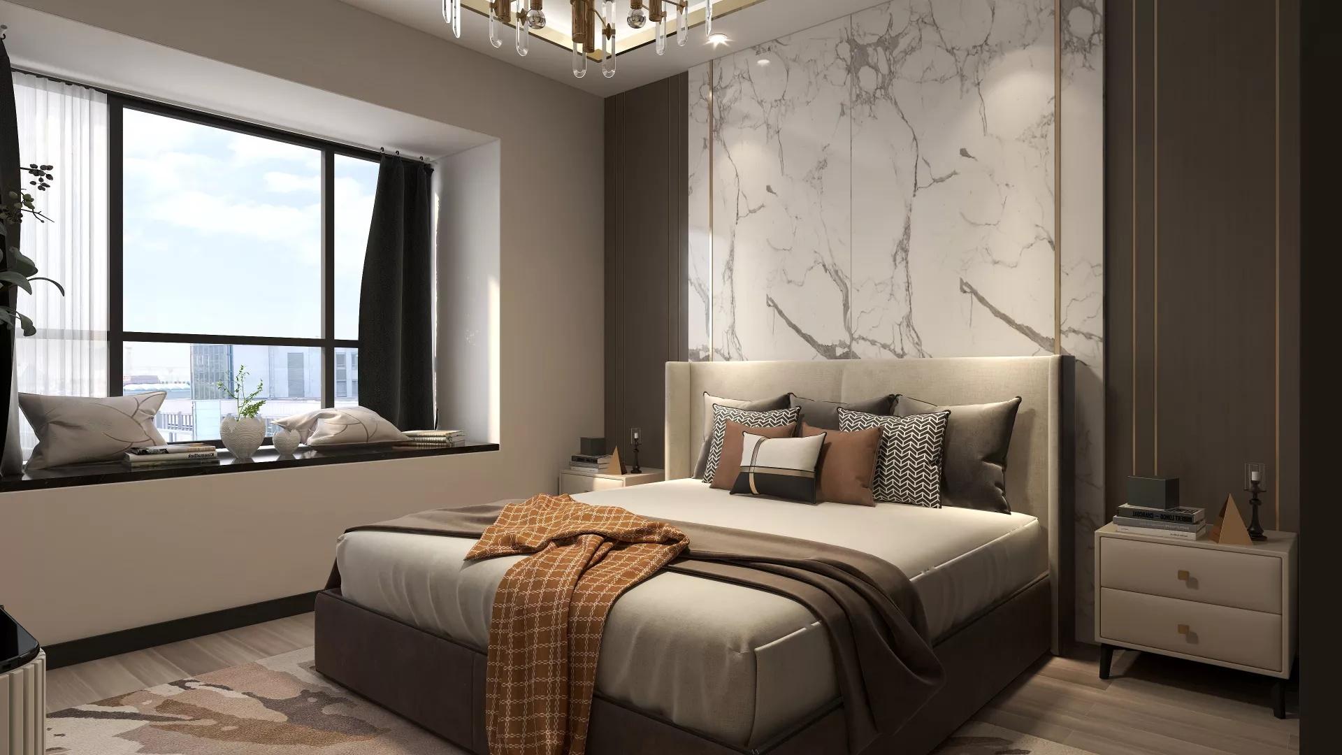 地中海风格浪漫时尚型客厅装修效果图