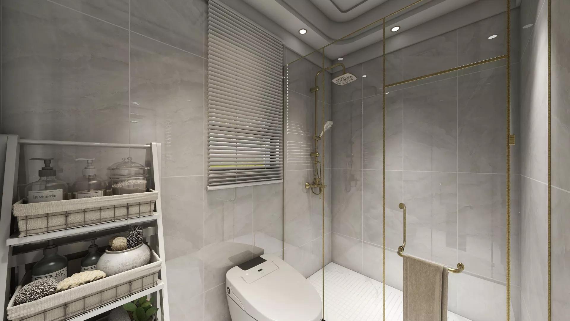 时尚中式风格精美楼梯设计装修效果图
