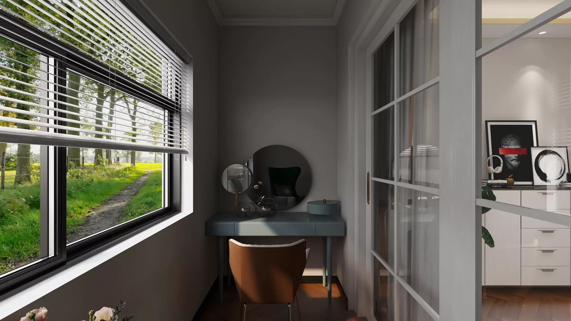 卧室,简约风格,灯具,床,简洁,温馨,粉色