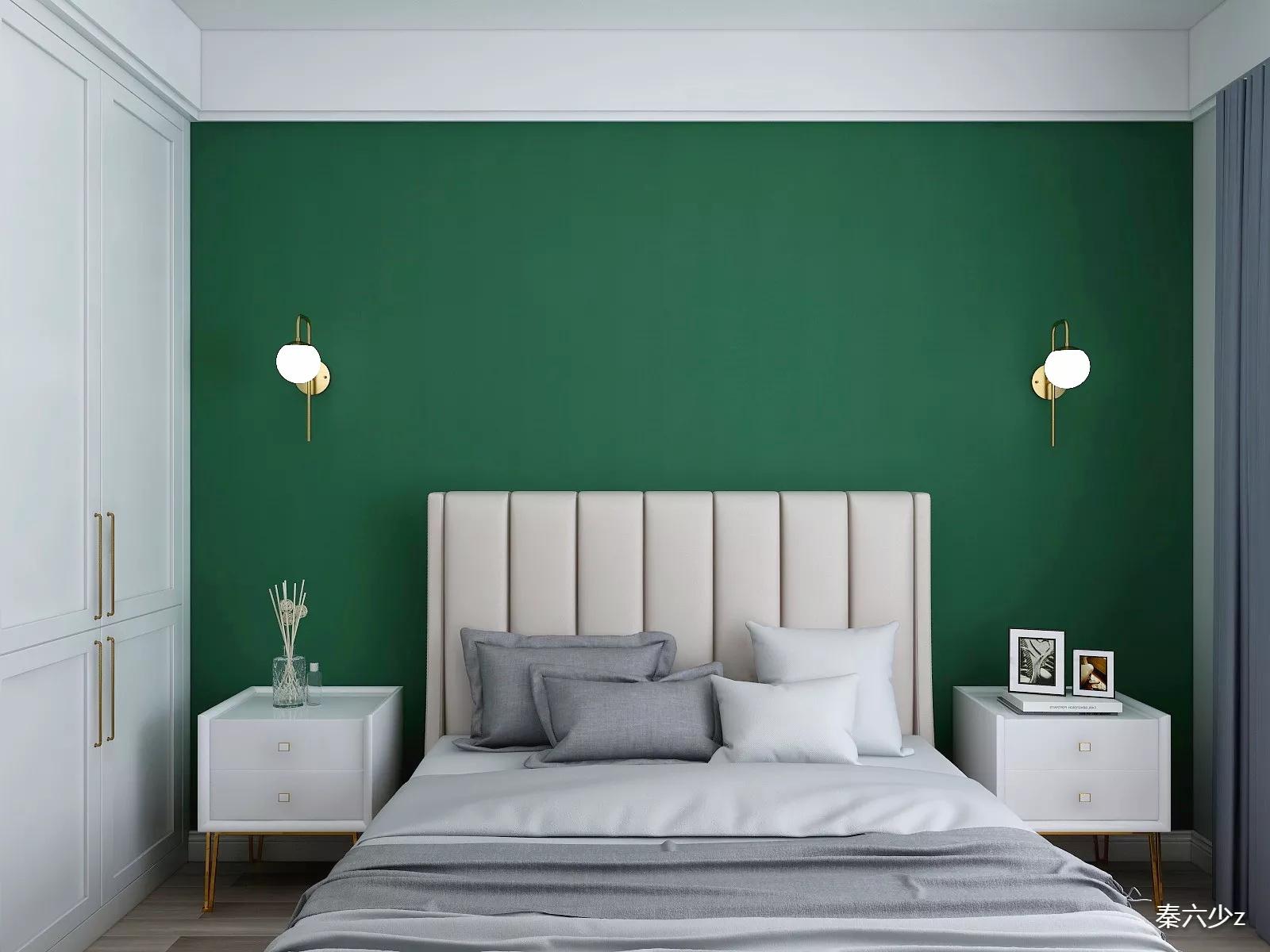现代简约大户型卧室吊顶装修设计效果图