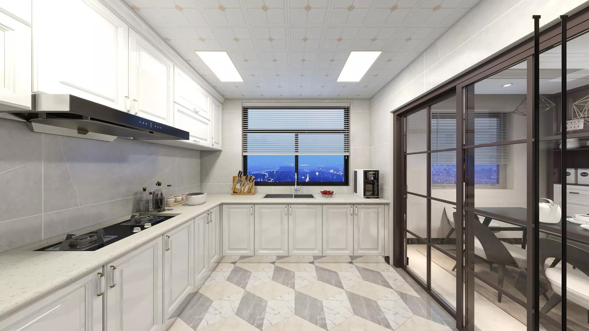 现代别墅露台装修设计效果图