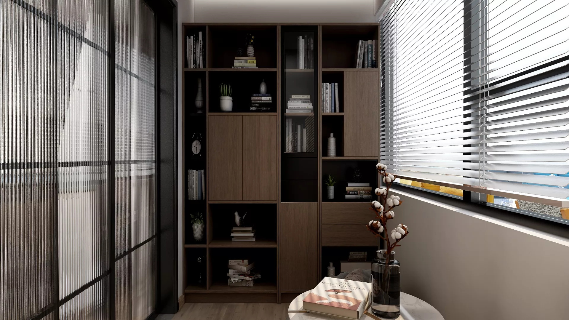 95平复古风舒适自得的客厅装修效果图