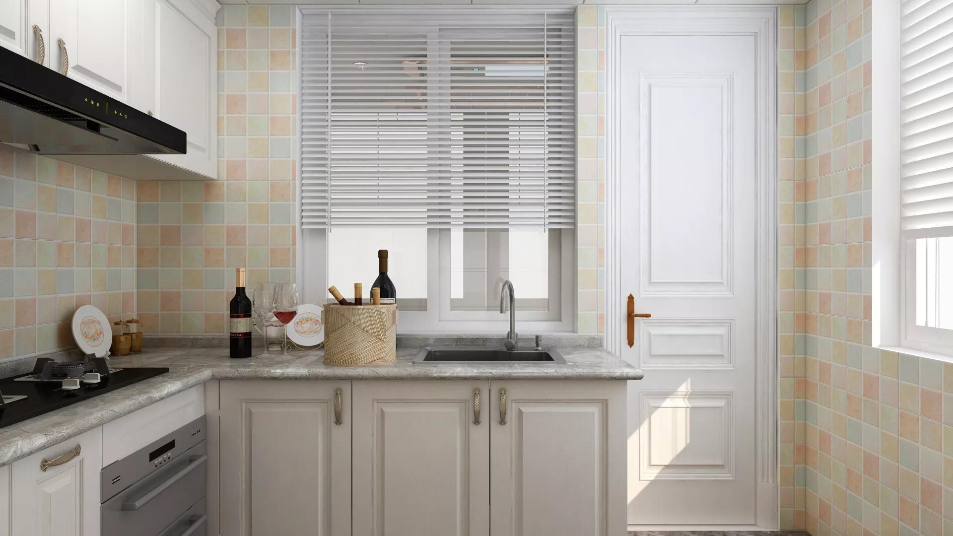 材质与色彩独到设计温馨新中式家装风格效果图