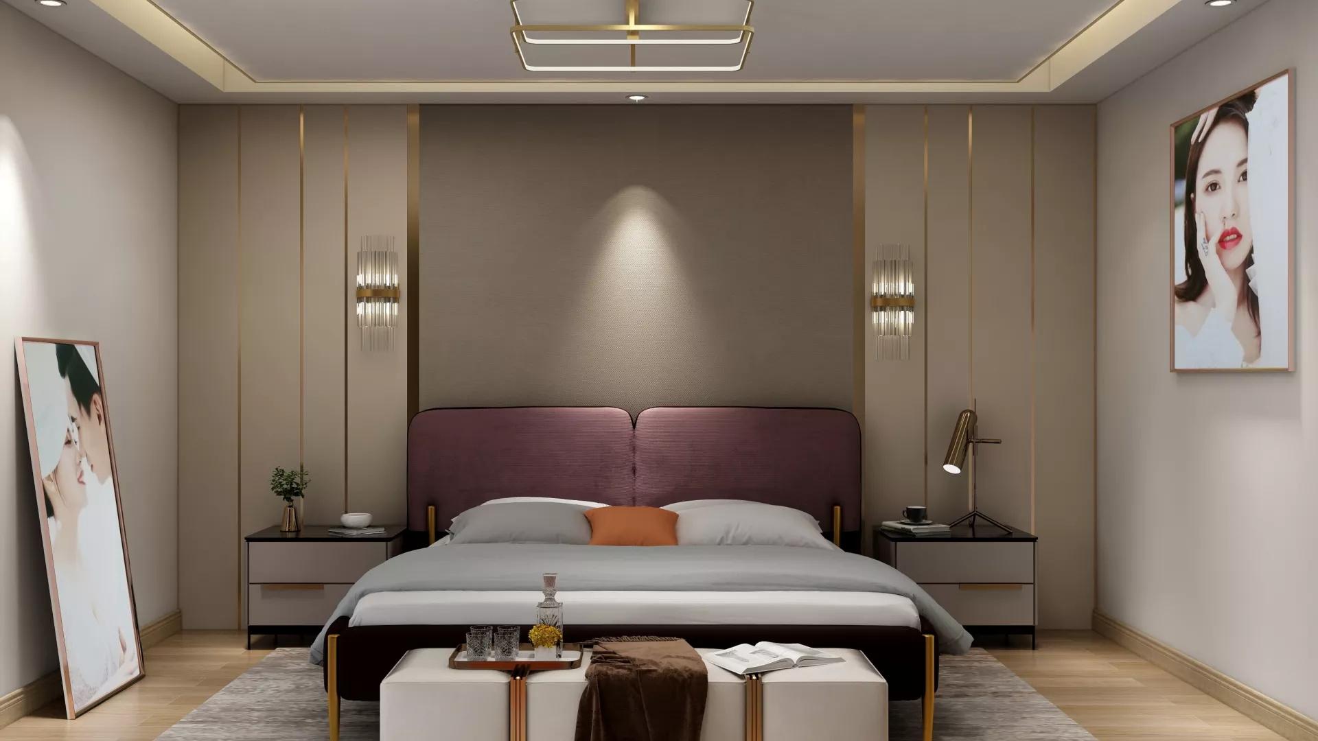 日式和风二居室设计装修效果图