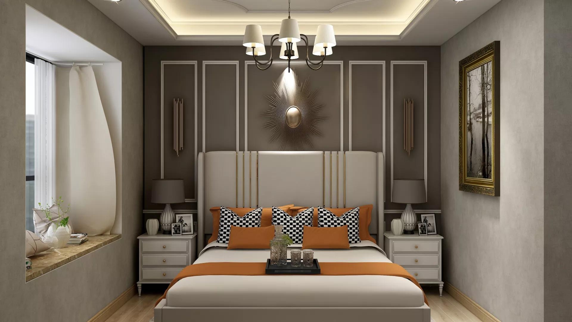 简约欧式风格别墅装修设计效果图
