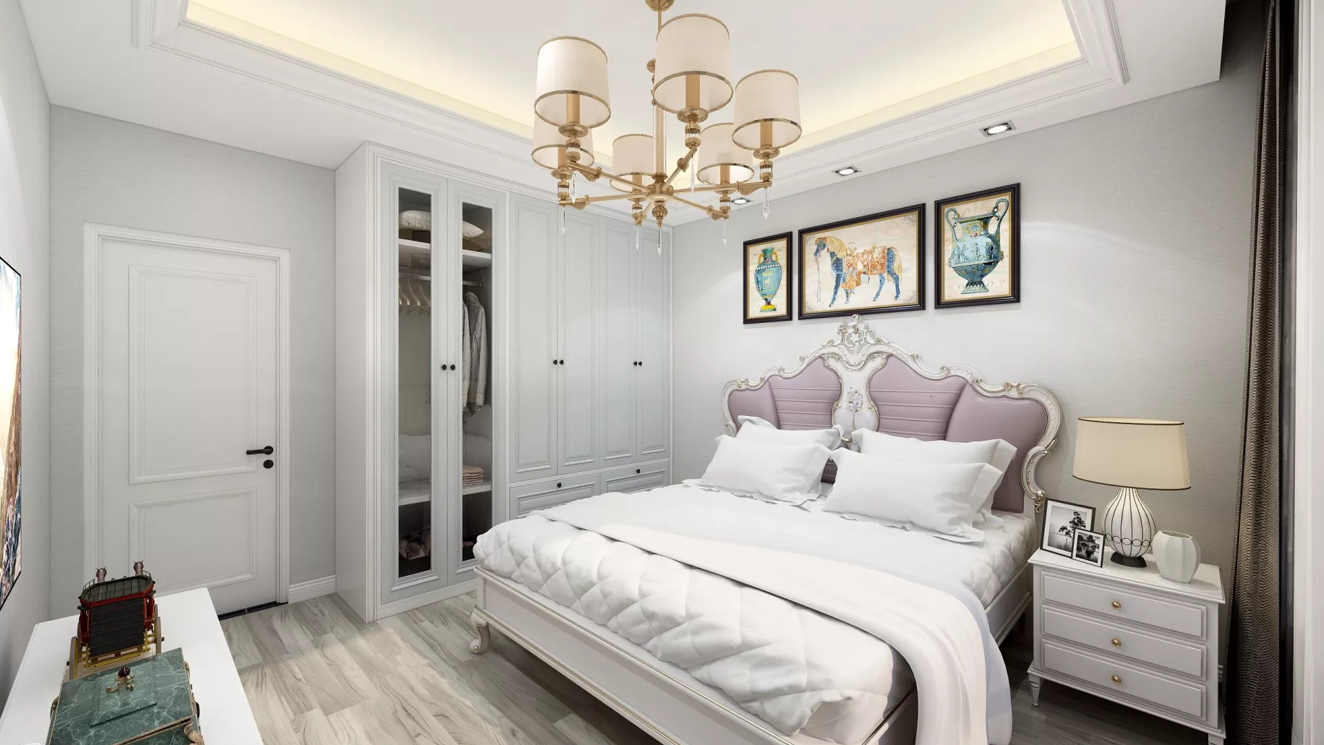 卧室,背景墙