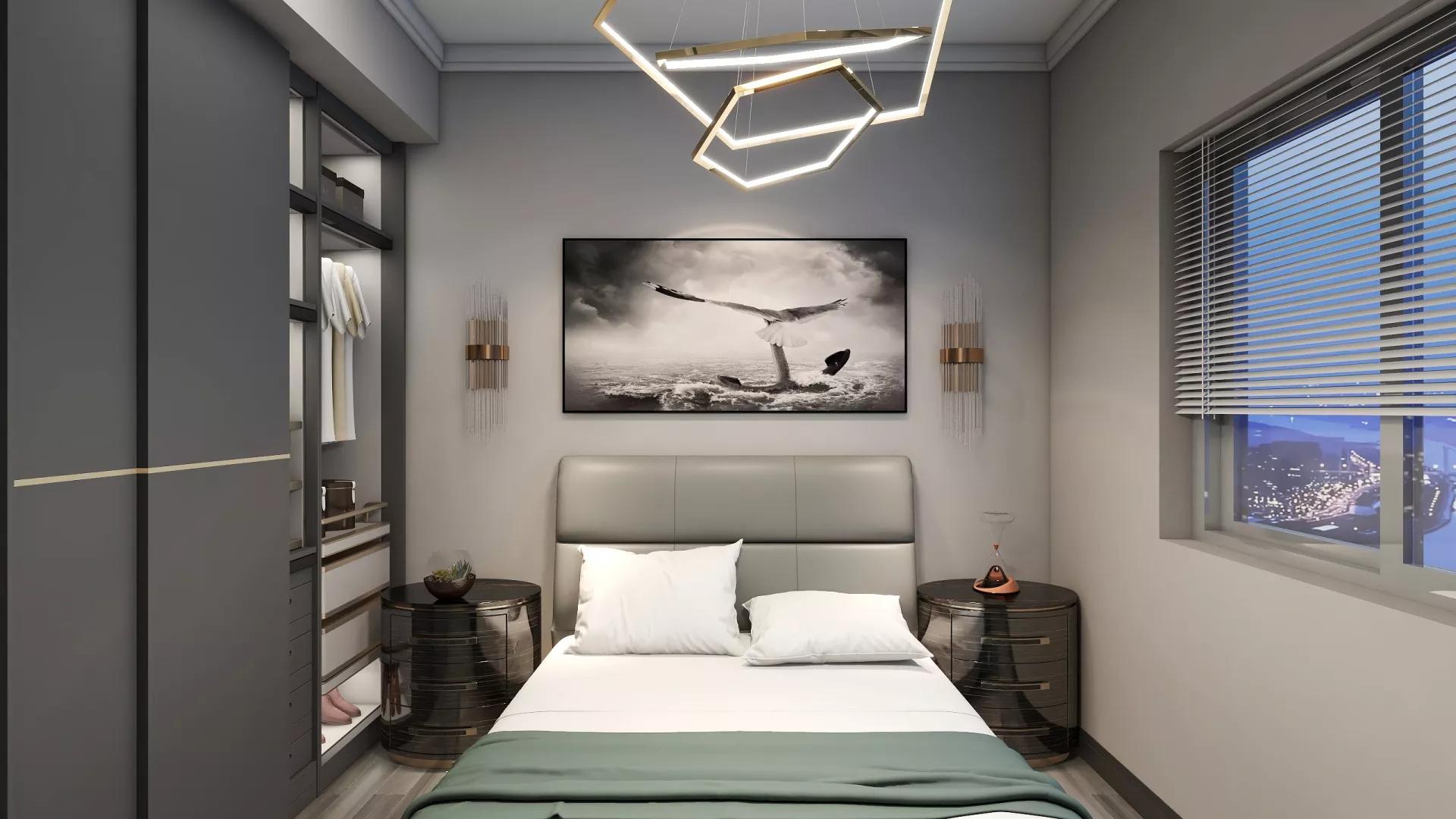 客厅,简约风格,沙发,灯具,茶几,简洁,温馨