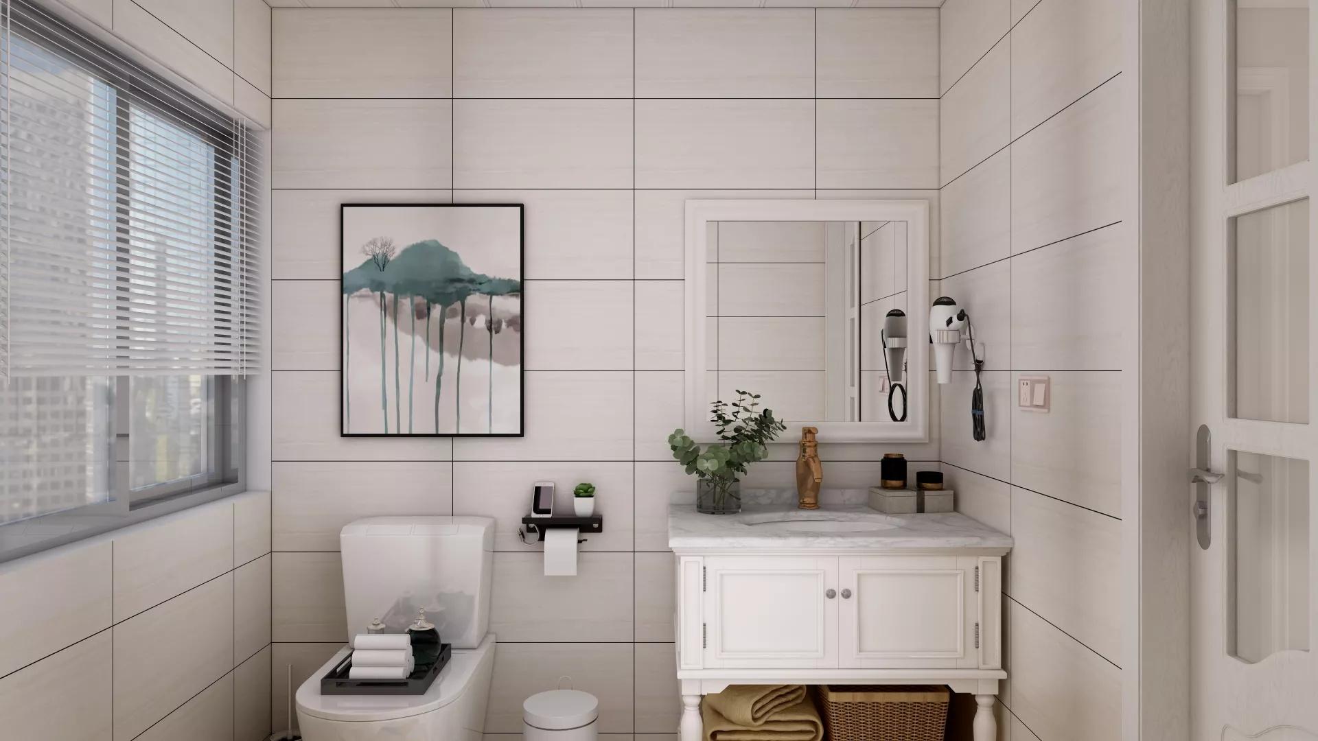 衛浴間裝修之浴室柜選購知識
